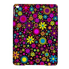 Bright And Busy Floral Wallpaper Background Ipad Air 2 Hardshell Cases