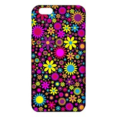Bright And Busy Floral Wallpaper Background Iphone 6 Plus/6s Plus Tpu Case