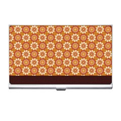 Floral Seamless Pattern Vector Business Card Holders