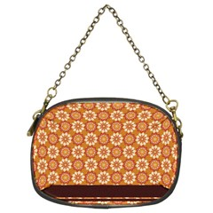 Floral Seamless Pattern Vector Chain Purses (two Sides)