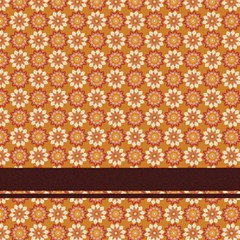 Floral Seamless Pattern Vector Magic Photo Cubes
