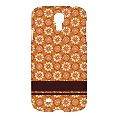 Floral Seamless Pattern Vector Samsung Galaxy S4 I9500/i9505 Hardshell Case