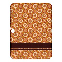 Floral Seamless Pattern Vector Samsung Galaxy Tab 3 (10 1 ) P5200 Hardshell Case