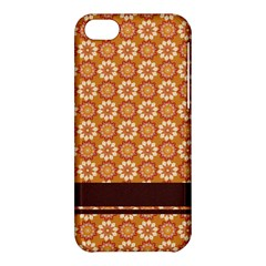 Floral Seamless Pattern Vector Apple Iphone 5c Hardshell Case