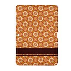 Floral Seamless Pattern Vector Samsung Galaxy Tab 2 (10 1 ) P5100 Hardshell Case