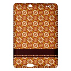 Floral Seamless Pattern Vector Amazon Kindle Fire Hd (2013) Hardshell Case