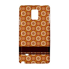 Floral Seamless Pattern Vector Samsung Galaxy Note 4 Hardshell Case