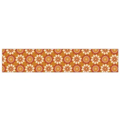 Floral Seamless Pattern Vector Flano Scarf (small)