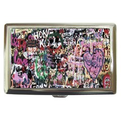 Graffiti Wall Pattern Background Cigarette Money Cases