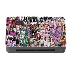 Graffiti Wall Pattern Background Memory Card Reader With Cf