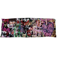 Graffiti Wall Pattern Background Body Pillow Case Dakimakura (two Sides)