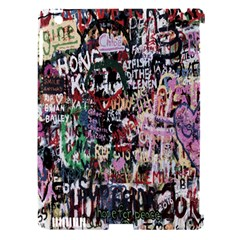 Graffiti Wall Pattern Background Apple Ipad 3/4 Hardshell Case (compatible With Smart Cover)
