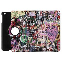 Graffiti Wall Pattern Background Apple Ipad Mini Flip 360 Case