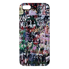 Graffiti Wall Pattern Background Iphone 5s/ Se Premium Hardshell Case