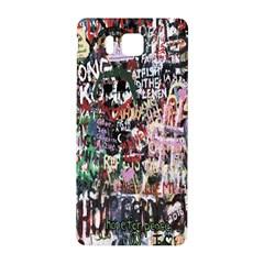 Graffiti Wall Pattern Background Samsung Galaxy Alpha Hardshell Back Case
