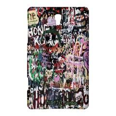 Graffiti Wall Pattern Background Samsung Galaxy Tab S (8 4 ) Hardshell Case
