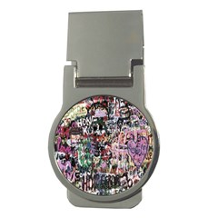 Graffiti Wall Pattern Background Money Clips (round)