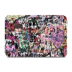 Graffiti Wall Pattern Background Plate Mats