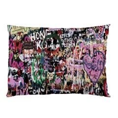 Graffiti Wall Pattern Background Pillow Case