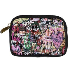 Graffiti Wall Pattern Background Digital Camera Cases