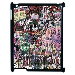 Graffiti Wall Pattern Background Apple Ipad 2 Case (black)