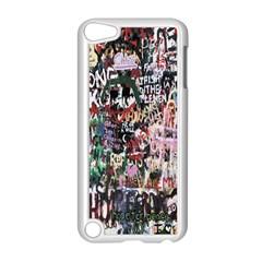 Graffiti Wall Pattern Background Apple Ipod Touch 5 Case (white)