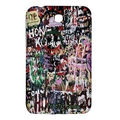 Graffiti Wall Pattern Background Samsung Galaxy Tab 3 (7 ) P3200 Hardshell Case
