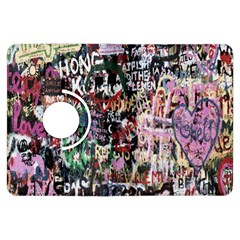 Graffiti Wall Pattern Background Kindle Fire Hdx Flip 360 Case