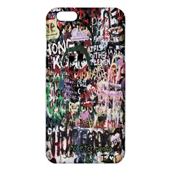 Graffiti Wall Pattern Background Iphone 6 Plus/6s Plus Tpu Case