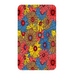 Background With Multi Color Floral Pattern Memory Card Reader