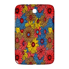 Background With Multi Color Floral Pattern Samsung Galaxy Note 8 0 N5100 Hardshell Case