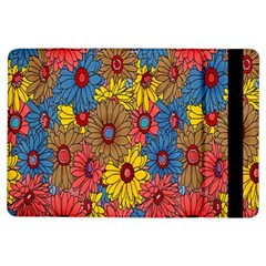 Background With Multi Color Floral Pattern Ipad Air Flip