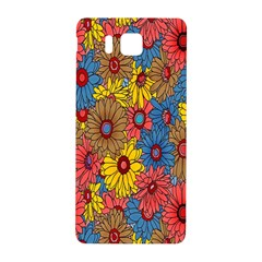 Background With Multi Color Floral Pattern Samsung Galaxy Alpha Hardshell Back Case
