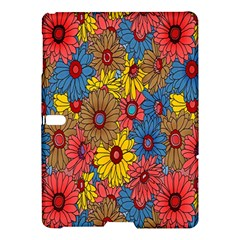 Background With Multi Color Floral Pattern Samsung Galaxy Tab S (10 5 ) Hardshell Case