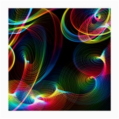 Abstract Rainbow Twirls Medium Glasses Cloth (2 Side)