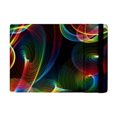 Abstract Rainbow Twirls Apple Ipad Mini Flip Case