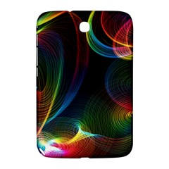 Abstract Rainbow Twirls Samsung Galaxy Note 8 0 N5100 Hardshell Case