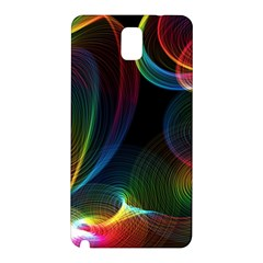 Abstract Rainbow Twirls Samsung Galaxy Note 3 N9005 Hardshell Back Case