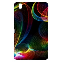 Abstract Rainbow Twirls Samsung Galaxy Tab Pro 8 4 Hardshell Case