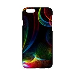 Abstract Rainbow Twirls Apple Iphone 6/6s Hardshell Case