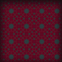 Blue Hot Pink Pattern With Woody Circles Canvas 16  X 16