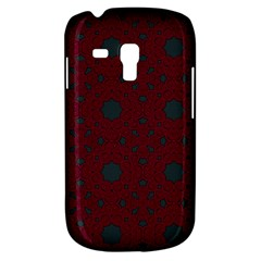 Blue Hot Pink Pattern With Woody Circles Galaxy S3 Mini