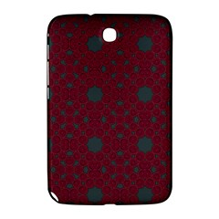 Blue Hot Pink Pattern With Woody Circles Samsung Galaxy Note 8 0 N5100 Hardshell Case