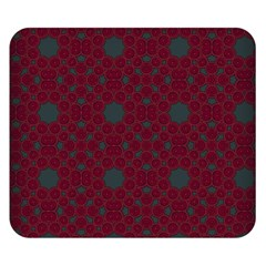 Blue Hot Pink Pattern With Woody Circles Double Sided Flano Blanket (small)