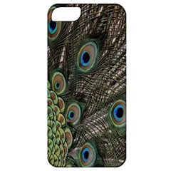 Close Up Of Peacock Feathers Apple Iphone 5 Classic Hardshell Case