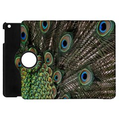 Close Up Of Peacock Feathers Apple Ipad Mini Flip 360 Case