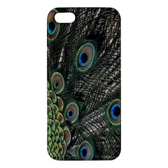 Close Up Of Peacock Feathers Apple Iphone 5 Premium Hardshell Case