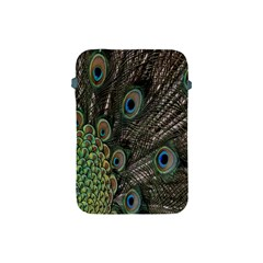 Close Up Of Peacock Feathers Apple Ipad Mini Protective Soft Cases