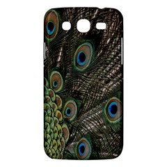 Close Up Of Peacock Feathers Samsung Galaxy Mega 5 8 I9152 Hardshell Case