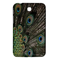 Close Up Of Peacock Feathers Samsung Galaxy Tab 3 (7 ) P3200 Hardshell Case